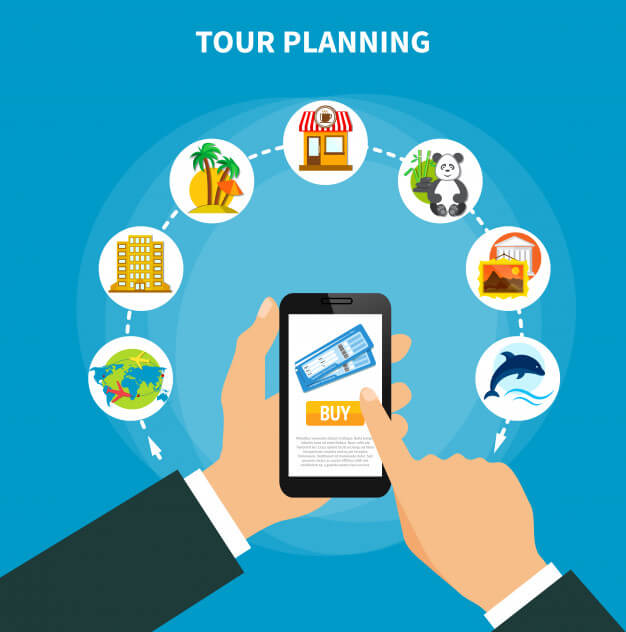 Tour Travel planning and formation